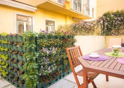 Horta com Minigarden Vertical e Corner