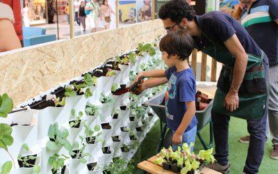 Workshops de Horticultura para crianças e adultos – Horta Vertical